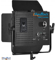 75W LED Video & Foto Studioverlichting - LEDP-1190-DMX - 5400°K, 9000 lm, DMX-512, V-Mount batterijslot, DC 12V-24V