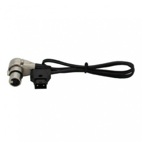 Rolux 4-pins XLR Female met Male D-tap RL-C5